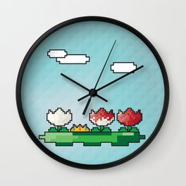 Off With Her Head Wall Clock