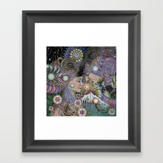 Threads Framed Art Print