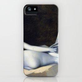 Odalisque in Grisaille - Jean-Auguste-Dominique Ingres iPhone Case