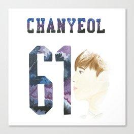 Chanyeol 61 Canvas Print