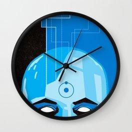 Doctor Manhattan in Blue Wall Clock