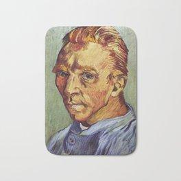 Portrait de lArtiste sans Barbe by Vincent van Gogh Bath Mat