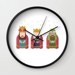 Three Kings Epiphany Day Wall Clock