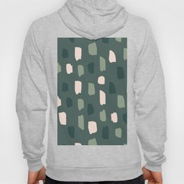 Paintbrush Green Rose Hoody