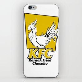 Karnak Fried Chocobo iPhone Skin