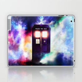 Tardis in Cloud  Laptop & iPad Skin