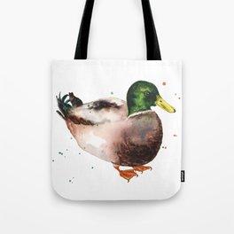 Mallard Morning Tote Bag