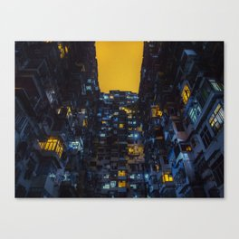 Ghost In The Shell Vibes / Liam Wong / Hong Kong Cyberpunk Canvas Print