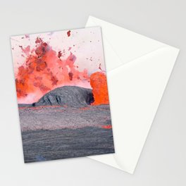 volcano #society6 #decor #buyart Stationery Cards