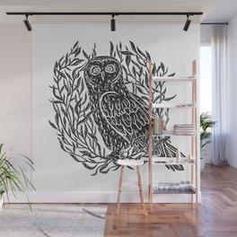 Magic Owl no1 Wall Mural