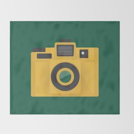 Camera Series: Holga Throw Blanket