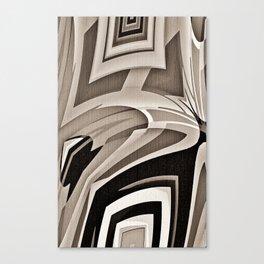 Pinch Me Black Canvas Print