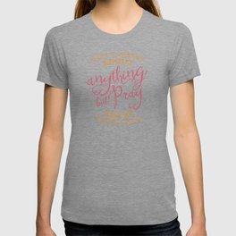 PRAYER OVER WORRY T-shirt