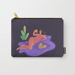 lovely pizza lady Carry-All Pouch