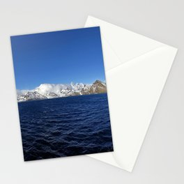 Antarctic Mountain Range Stationery Cards