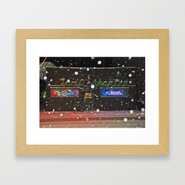 The Tam Framed Art Print