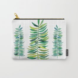 Three Ferns Carry-All Pouch