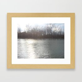Lake View Framed Art Print