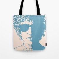 dylan Tote Bags featuring Dylan by Jeroen van de Ruit