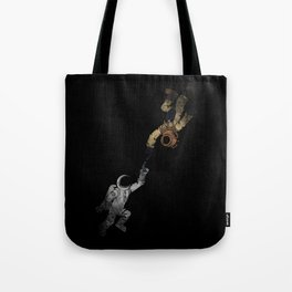 In to the Deep Tote Bag