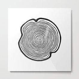 Tree Ring I Metal Print