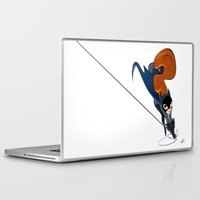 batgirl Laptop & iPad Skins featuring Batgirl by Dean Heezen Art