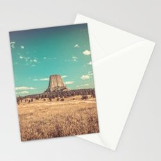 Devil's Tower National Monument Wyoming Stationery Cards