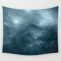 nebula Wall Tapestries featuring NeBula by 2sweet4words Designs