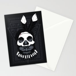 Witch Doctor - Dark Skin Stationery Cards