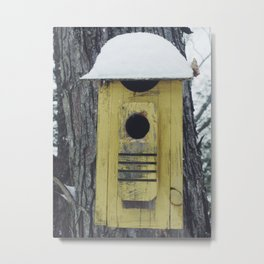 snow shack Metal Print