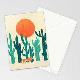 Desert fox Stationery Cards
