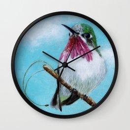 Hummingbird Watch Wall Clock