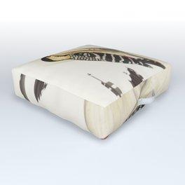 Naturalist Woodpeckers Outdoor Floor Cushion