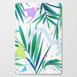 summer motel pattern Cutting Board