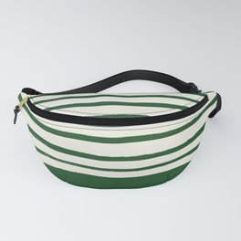 Holiday x Green Stripes Fanny Pack