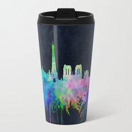Paris skyline waterolor 2 Travel Mug