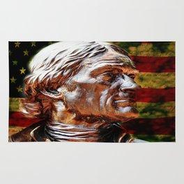 Thomas Jefferson Statue Rug