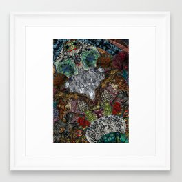 Psychedelic Botanical 13 Framed Art Print