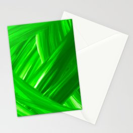 Woven 10 Kelly Green - Abstract Art Series Stationery Cards