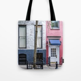Old Greenwich Village apartment Tote Bag