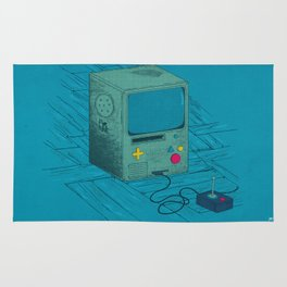 Old Video Game Console Rug