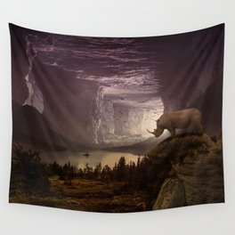View on the plain by GEN Z Wall Tapestry
