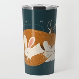The Fox and the Hare Travel Mug