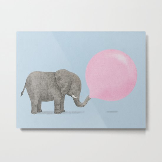 Jumbo Bubble II Metal Print