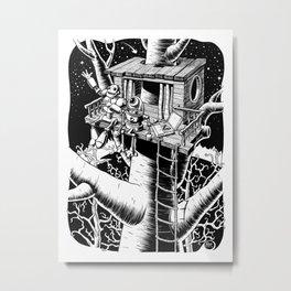Tell The Stars Metal Print