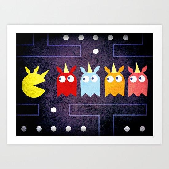 Pac Unicorn Art Print