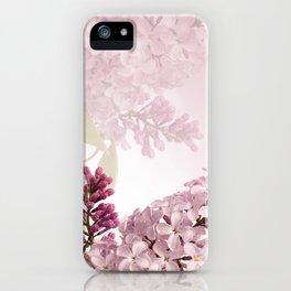 Lilic floral iPhone Case