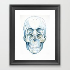 the 4i skull Framed Art Print
