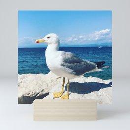 Boss Seagull Mini Art Print
