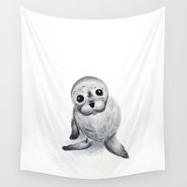 Little Seal Wall Tapestry
